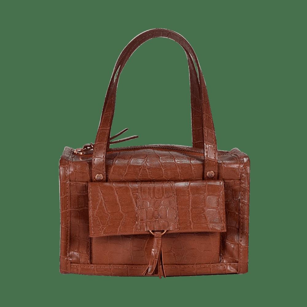 Hand Bag Diana - Marrom