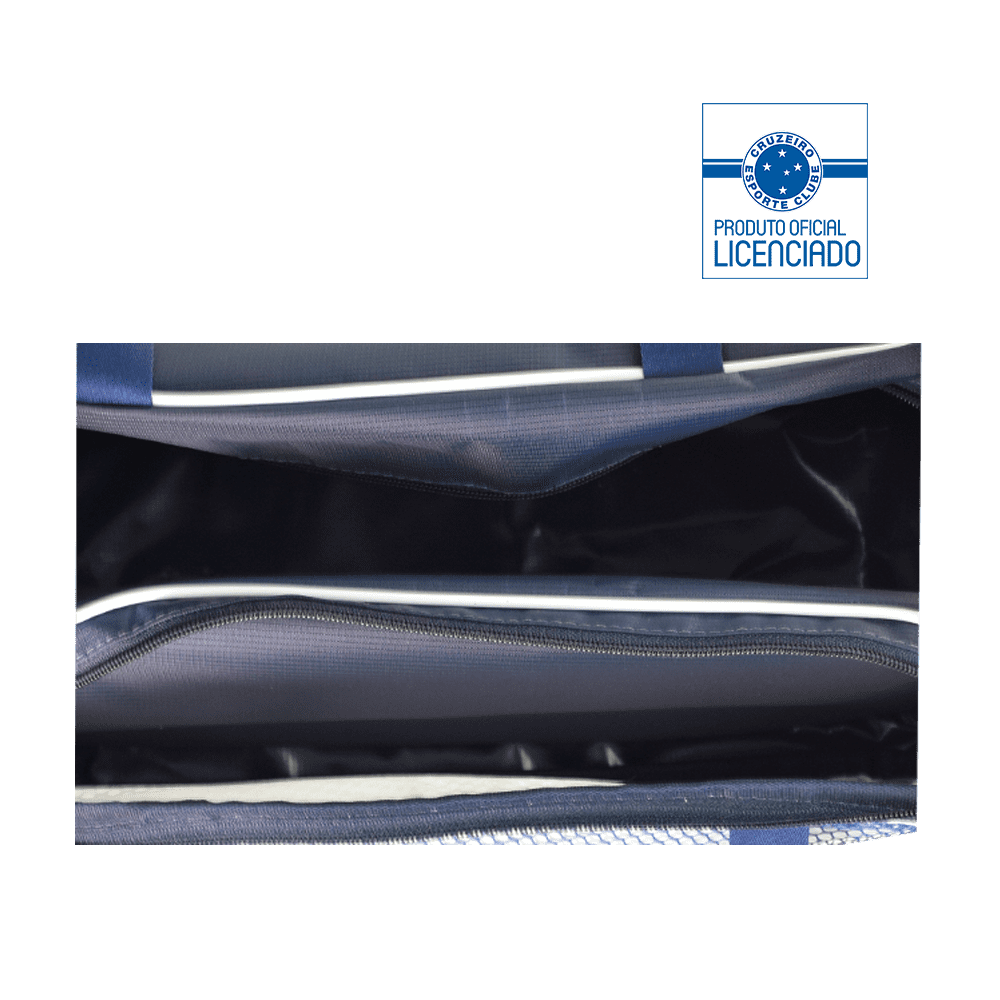 7ad5e6ab7d429 Porta Chuteira Tríplice Coroa - Azul Marinho - EBolsas BH