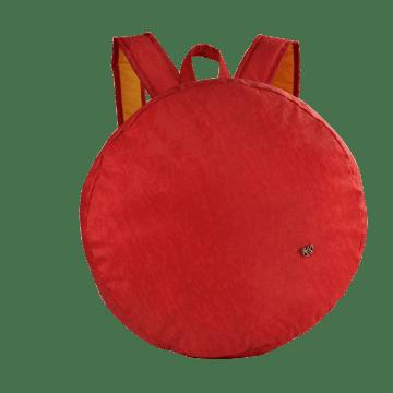 Mochila Porta Almofada Live Vermelho