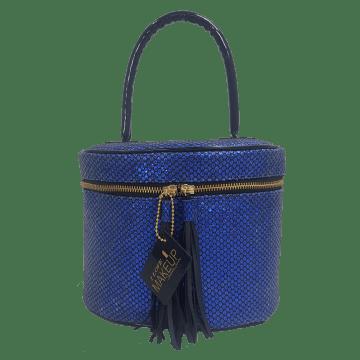 Frasqueira Térmica Make Glow Azul