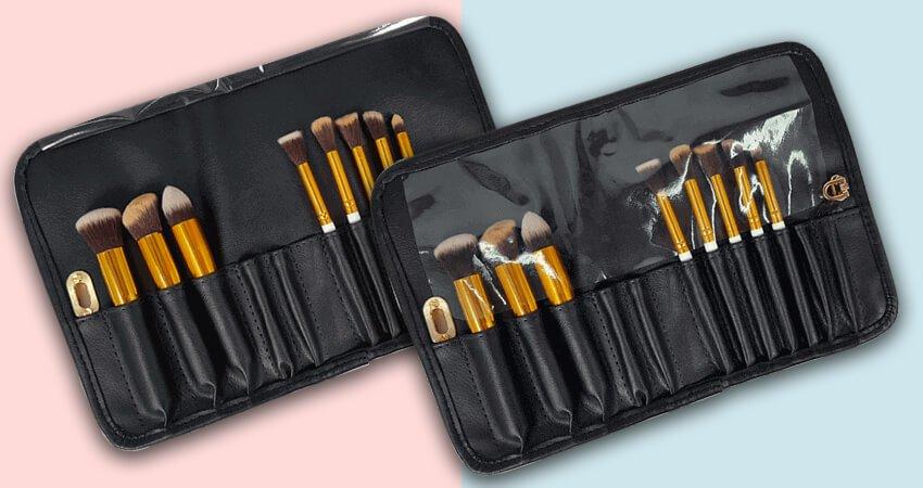 cinto de maquiagem sabrina santos make up para pincéis profissionais