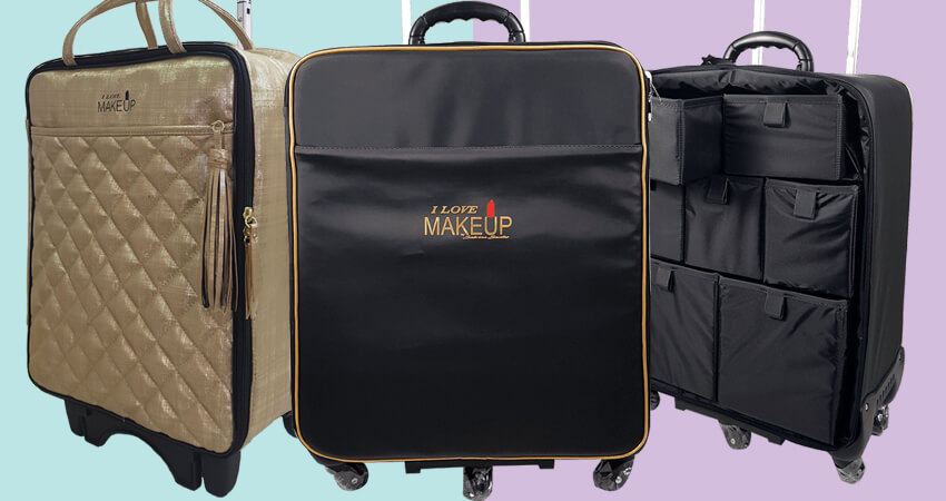 conheça as principais vantagens da maleta profissional de maquiagem com rodinhas
