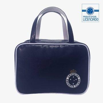 necessaire azul inspire produto oficial licencia cruzeiro frente