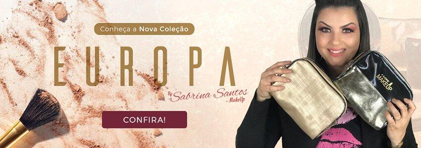 sabrina make up coleção europa para profissionais da beleza
