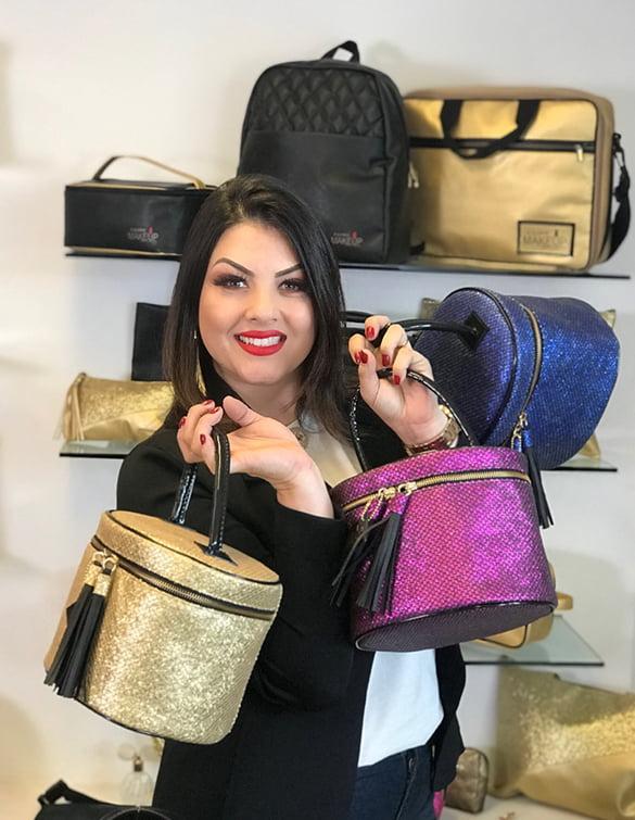 Bolsas para Maquiadoras, by Sabrina Santos, Bolsas para consultora Mary Kay