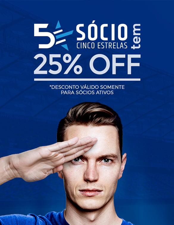 Linha oficial de produtos do Cruzeiro