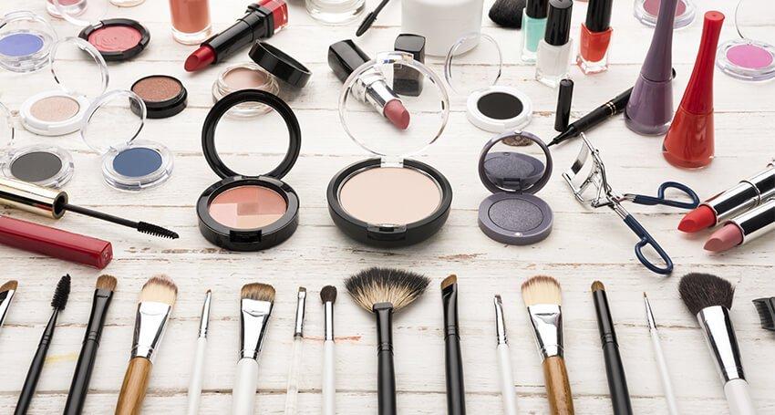 Organização para maquiadores