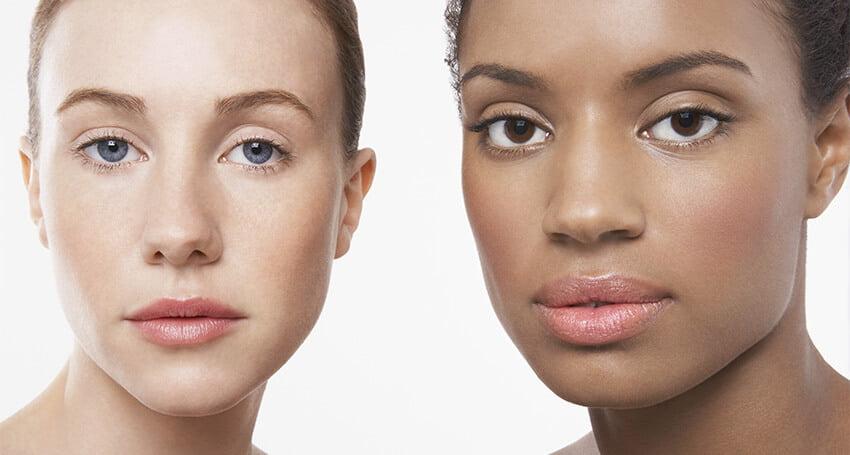 Maquiagem diferentes tons de pele