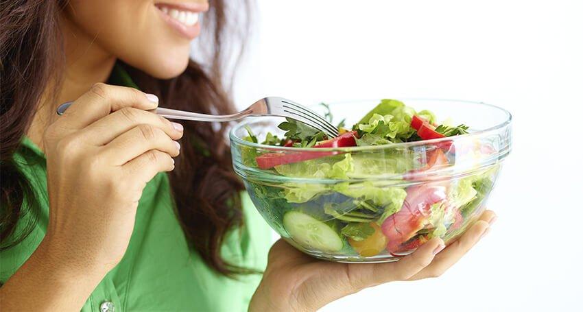 Alimentação saudável rotina cheia