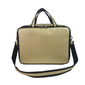 maleta térmica sabrina santos dourada